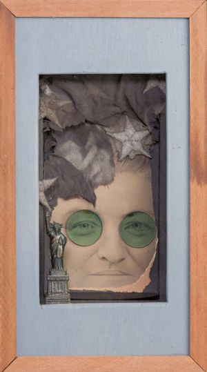 Mother, 2011, Assemblage, 8.5 x 15.5 x 4""