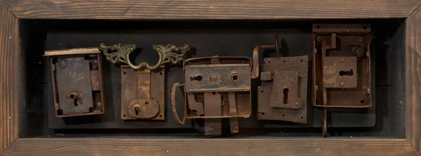 Friends, 2010, Assemblage, 27 x 10 x 6""